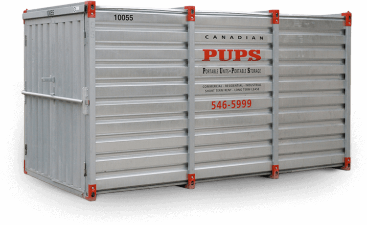 Secure Moving Storage Containers Rent PUPS Portable Storage